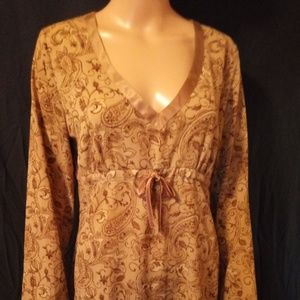 Gorgeous taupe blouse